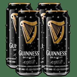 4 Pack Guinness Lata 440ml