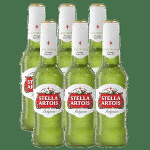 6 Pack Stella Aroits Botella 330ml
