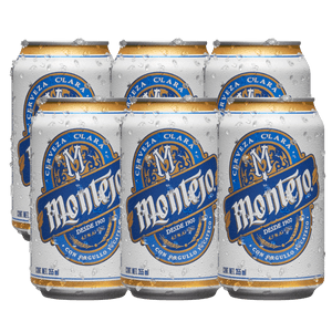 6 Pack Montejo Lata 355ml