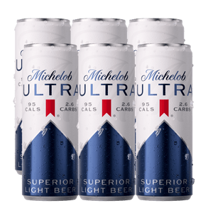 6 Pack Michelob Ultra Lata 355ml