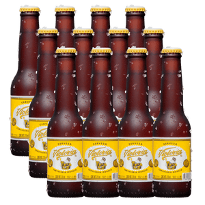 12 Pack Victoria Cuartito Retornable 210ml