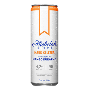 Michelob Hard Seltzer Durazno 355ml