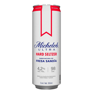 Michelob Hard Seltzer Fresa 355ml