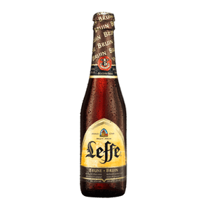 Leffe Brune Botella 330ml - Estilo Belgian Brown Ale