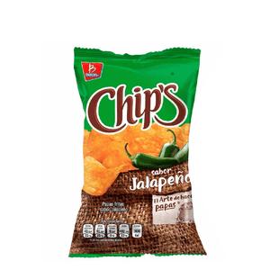 Chips Jalapeño 56g
