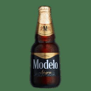 Negra Modelo Botella Desechable 355ml