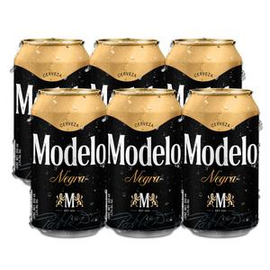 6 Pack Negra Modelo Lata 355ml
